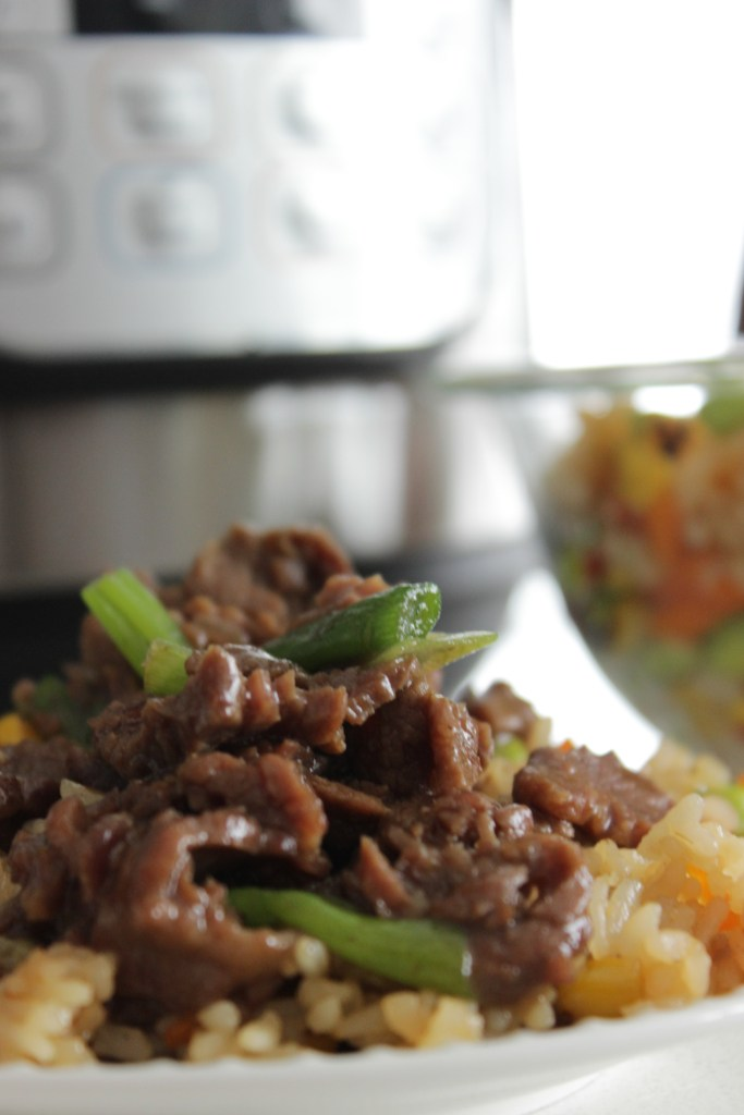 Mongolian Beef in the Instant Pot is easy!