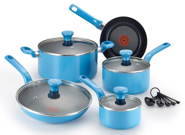 T-fal 14-piece Nonstick Thermo-spot Cookware Set 39