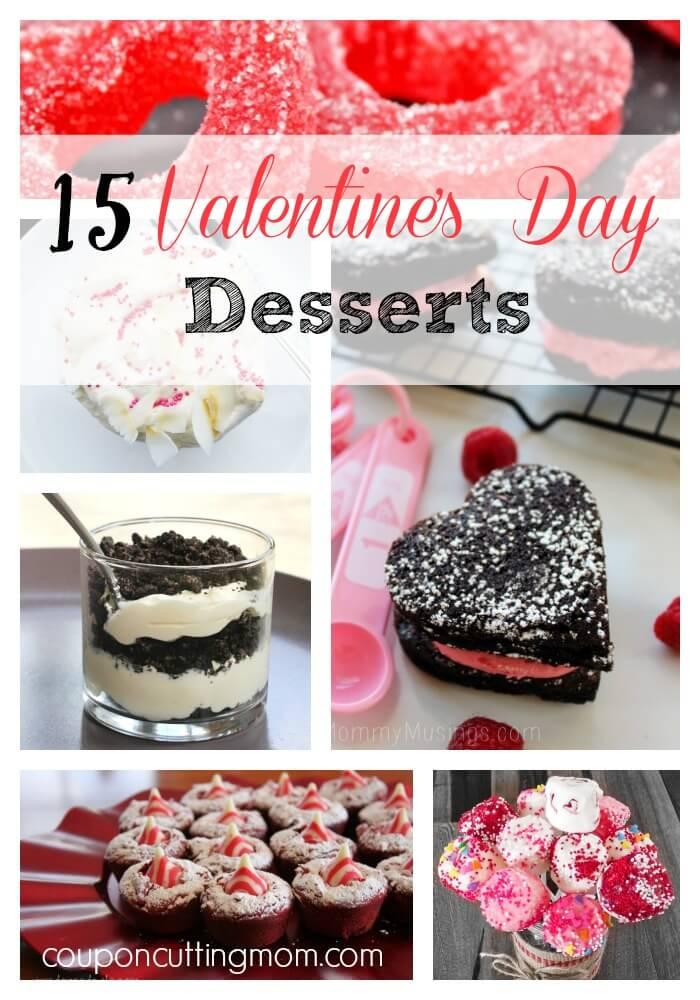 15 Delicious Valentines Day Desserts Round Up