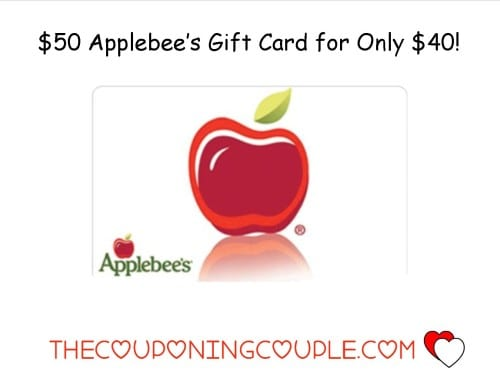 5000 Applebees Gift Card For Only 4000