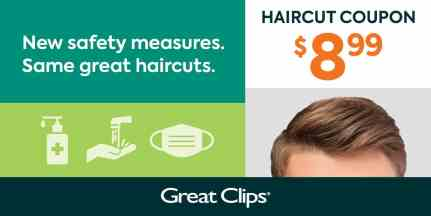 $8.99 Great Clips Coupon