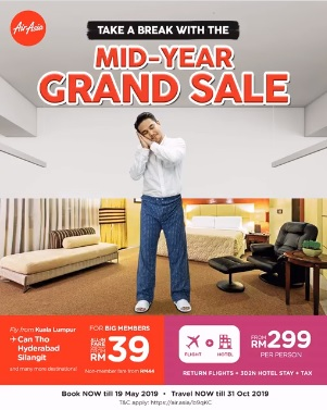 AirAsia Promotion Mid-Year Grand Sale 2019 - Coupon Malaysia. Malaysia Sales. Malaysia Freebies. Malaysia Promotion. Vouchers & Coupon Codes ...