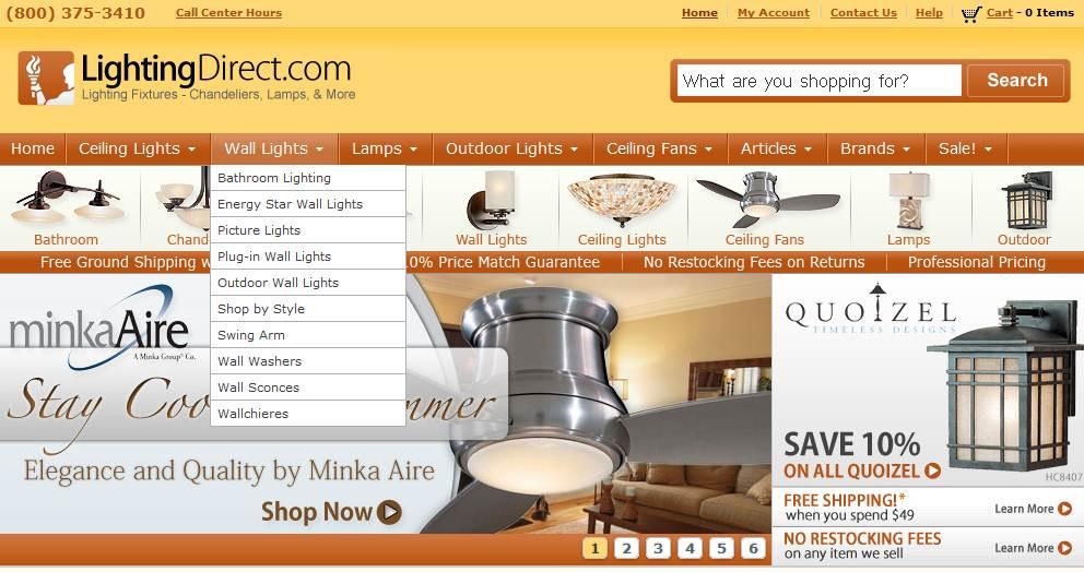 LightingDirect Wall Lights  Coupon Code