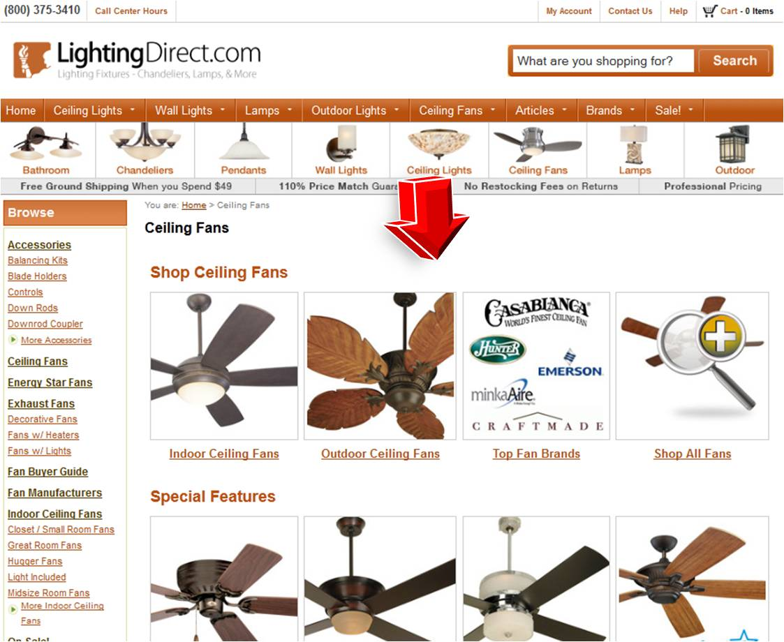 LightingDirect Ceiling Fan  Coupon Code