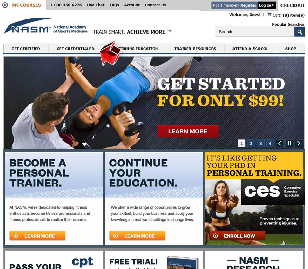 fitness nutrition specialist from nasm