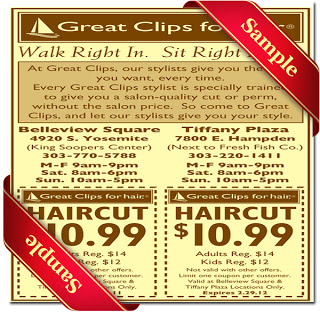 Great Clips Printable Coupon December 2016