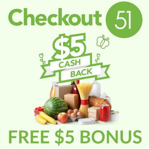 Money Saving App Get A Free $5 Bonus From Checkout 51