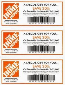 home depot coupon augusts