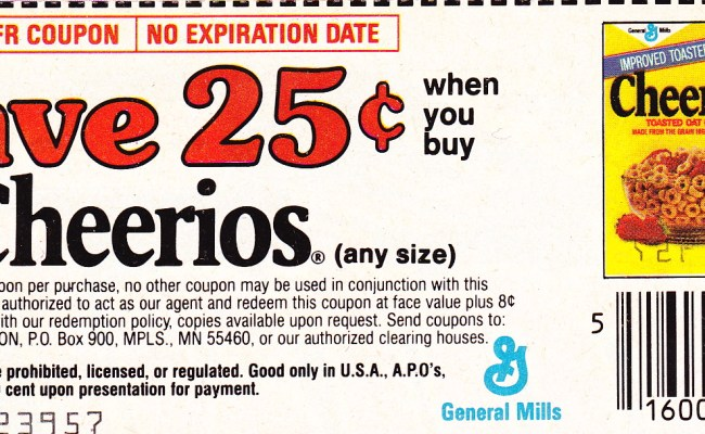 Cheerios Grocery Coupons 2018