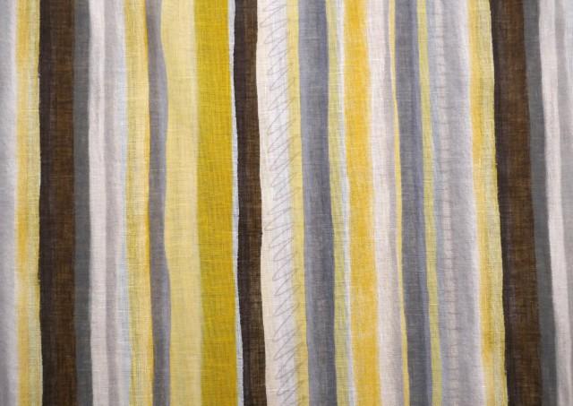 tissu pour rideaux avec rayures