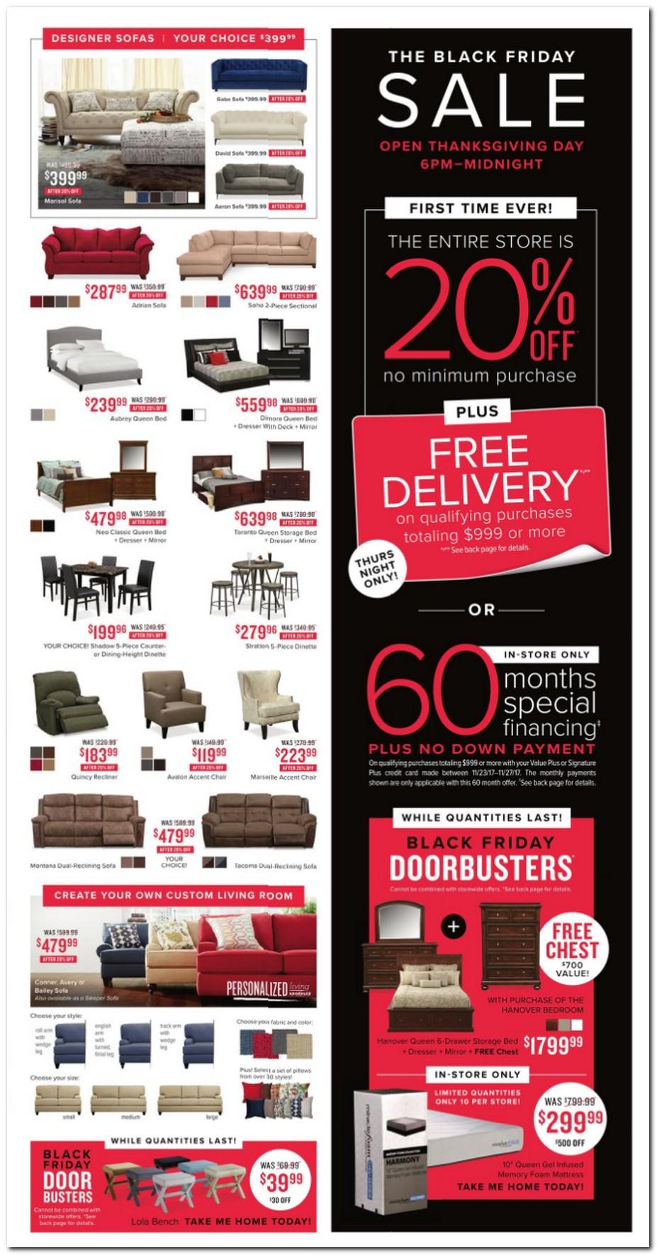 Value City Furniture Black Friday Ads Sales Deals 2017 Promo Codes Deals 2018  CouponShy