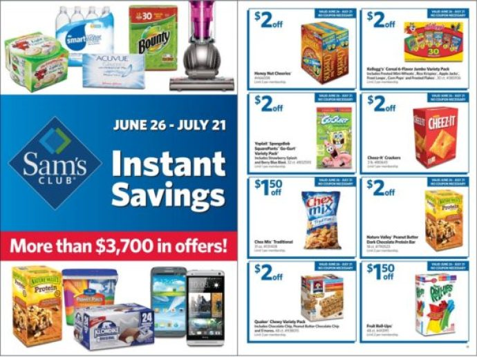 Sam's Club Instant Savings Book