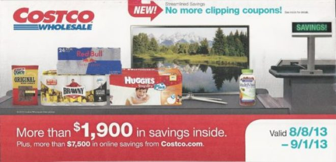 Costco August coupon book