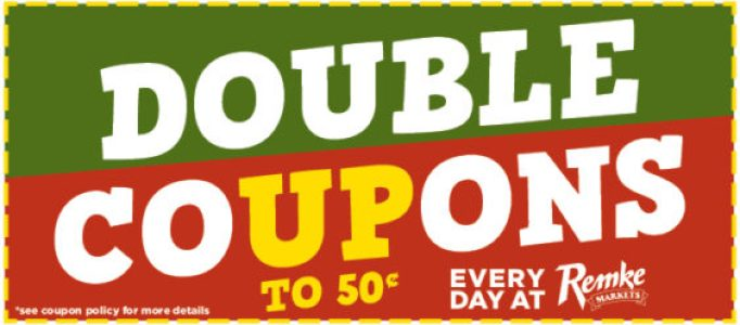 Remke Double Coupons