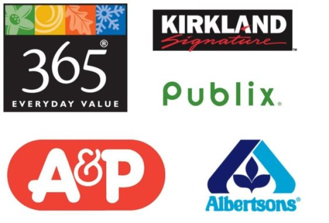 Private label logos