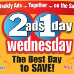 "Double Your Grocery Savings With ""Two Ads, One Day"""