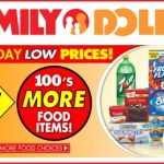 Would You Do All Your Grocery Shopping at the Dollar Store?