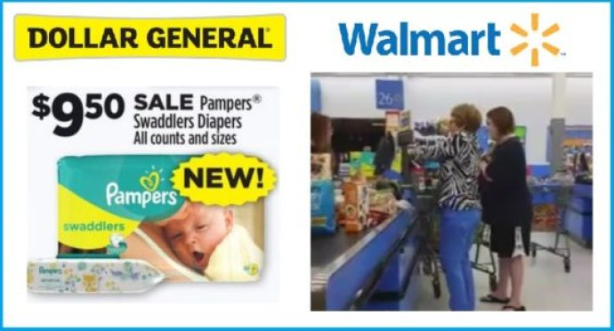 Walmart Pampers deal