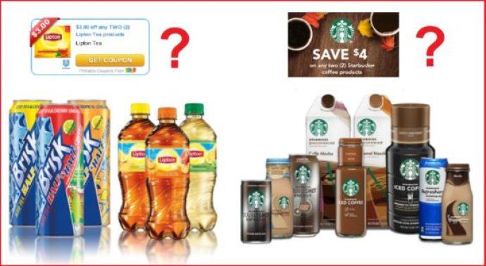 Lipton Starbucks coupons