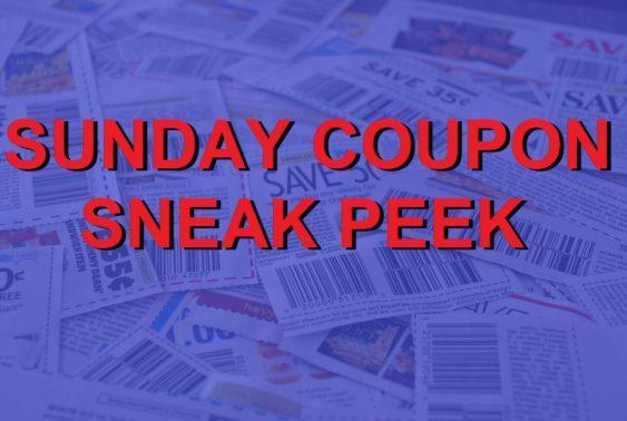 Sunday Coupon Sneak Peek 2