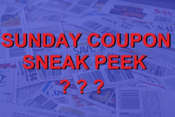 No Sunday Coupon Sneak Peek