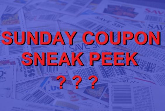No Sunday Coupon Sneak Peek
