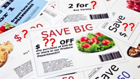 Mystery coupons
