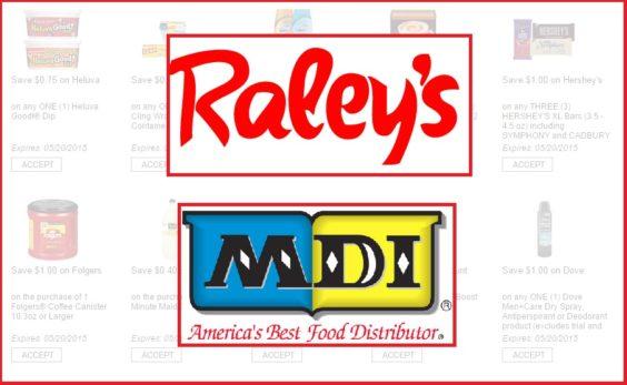 Raleys-MDI digital coupons