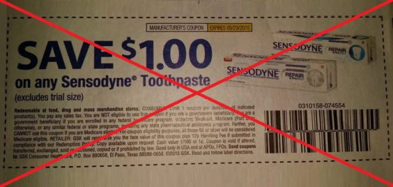picture relating to Sensodyne Printable Coupon known as Couponers Get: Business Backs Absent In opposition to Arguable Coupon