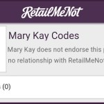 RetailMeNot and Mary Kay Settle Coupon Code Fight
