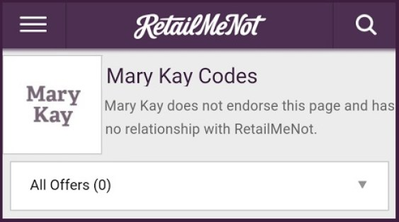 Retailmenot And Mary Kay Settle Coupon Code Fight Coupons In The News
