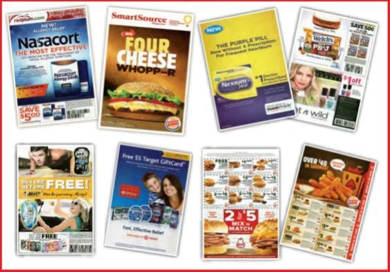 Kantar coupon inserts