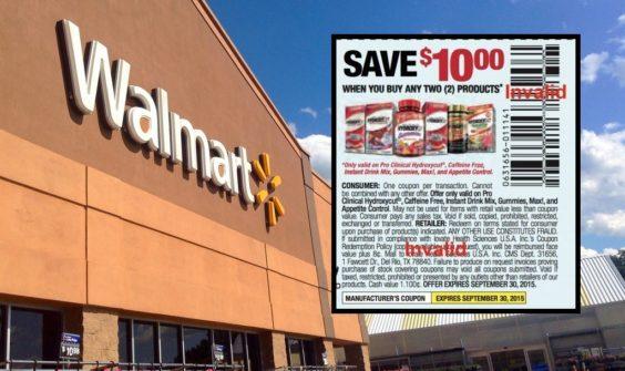 Walmart-Hydroxycut coupon