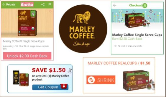 Marley Coffee rebates