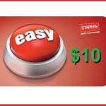 Staples Will Give Couponers $10 Each