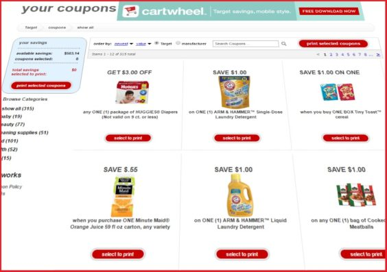 How Much Do Web Coupons Tell Retailers >> Target Officially Retires Printable Store Coupons Coupons In The News
