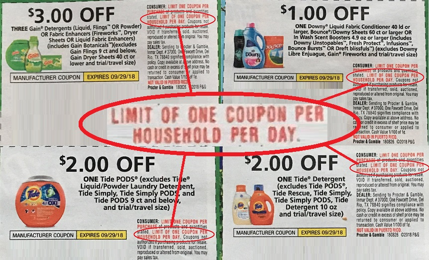 Fry's Coupon Policy Update