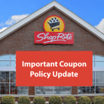 ShopRite Stores Eliminate Double Coupons