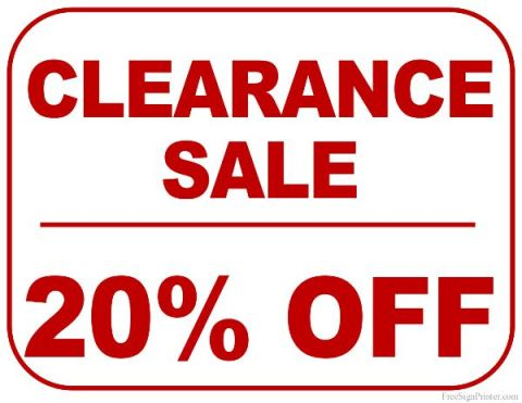 20 off on furniture hot sale