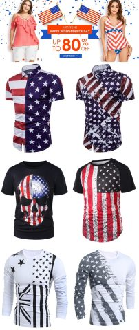 80 off for american flag clothing