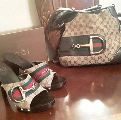 5 on all gucci bags shoes