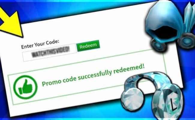 Robux Promo Codes 2020 That Work