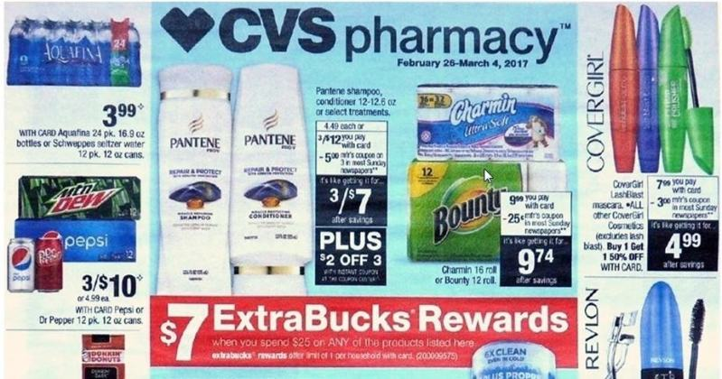 CVS SALES AND COUPON MATCHUPS FOR THE WEEK OF 2/26/17!!