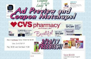 CVS Coupon Matchups 3-26-17