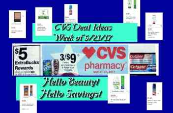CVS 5-21-17 Deal Ideas