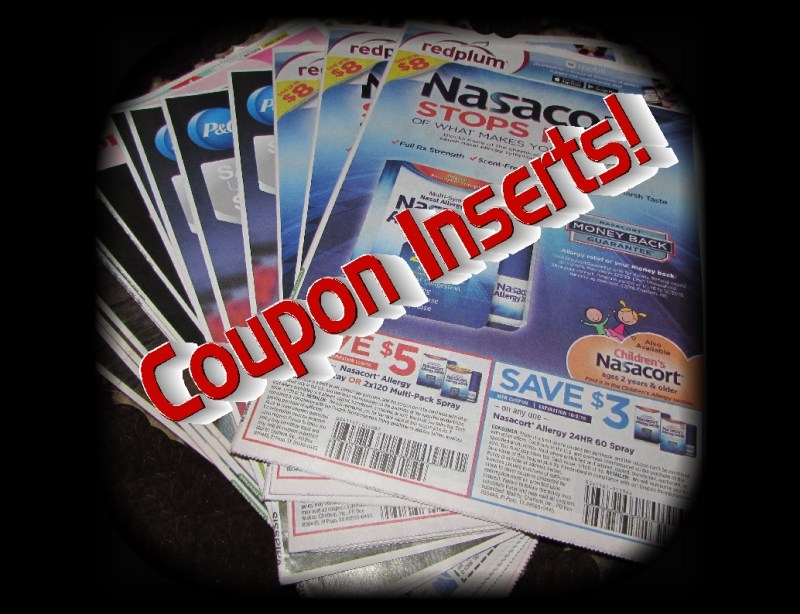 Upcoming Coupon Insert List Posted for Sunday 1/21/18!