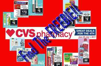 CVS 6-25-17 Deal Ideas