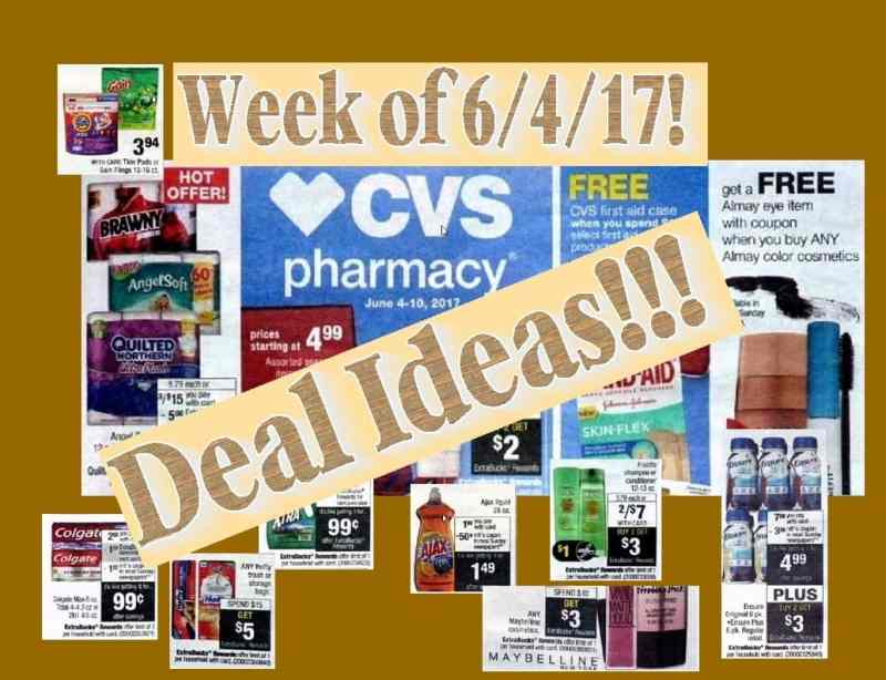 CVS Deal Ideas and Coupon Matchups for the upcoming Week of 6-4-17!