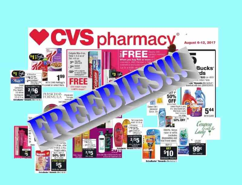 CVS Deals and Coupon Matchups for the Week of 8/6/17!!