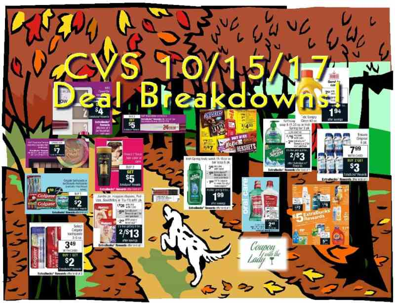 CVS 10/15/17 Deal Ideas with Breakdowns and Coupon Matchups!